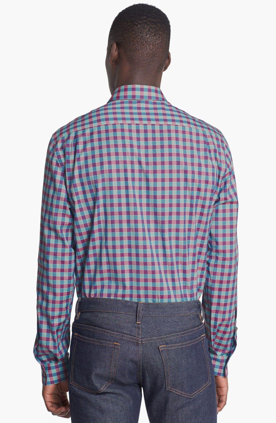 Alternate Image 2  - Paul Smith London Slim Fit Gingham Dress Shirt