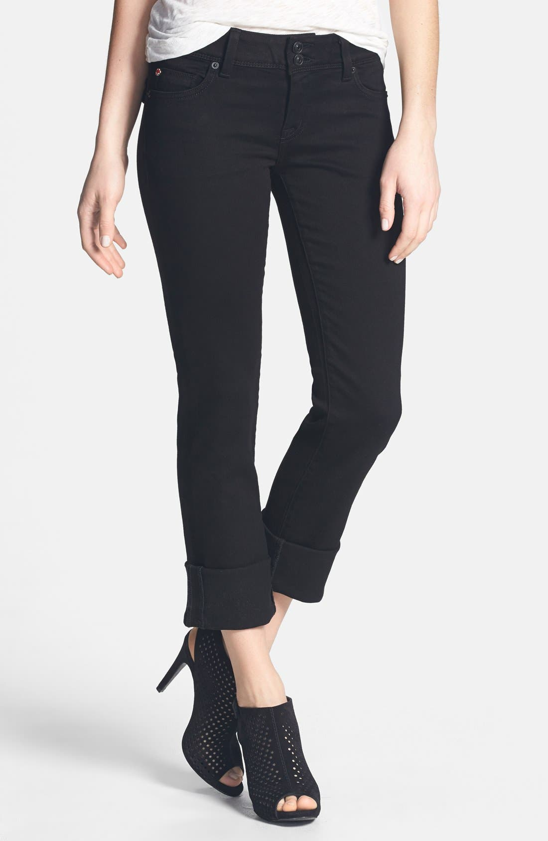 Alternate Image 1 Selected - Hudson Jeans 'Ginny' Crop Straight Leg Jeans