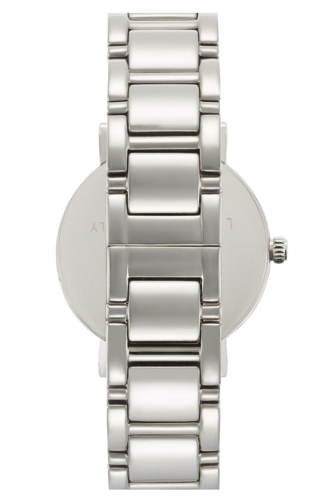Alternate Image 2  - kate spade new york 'gramercy' round bracelet watch, 34mm