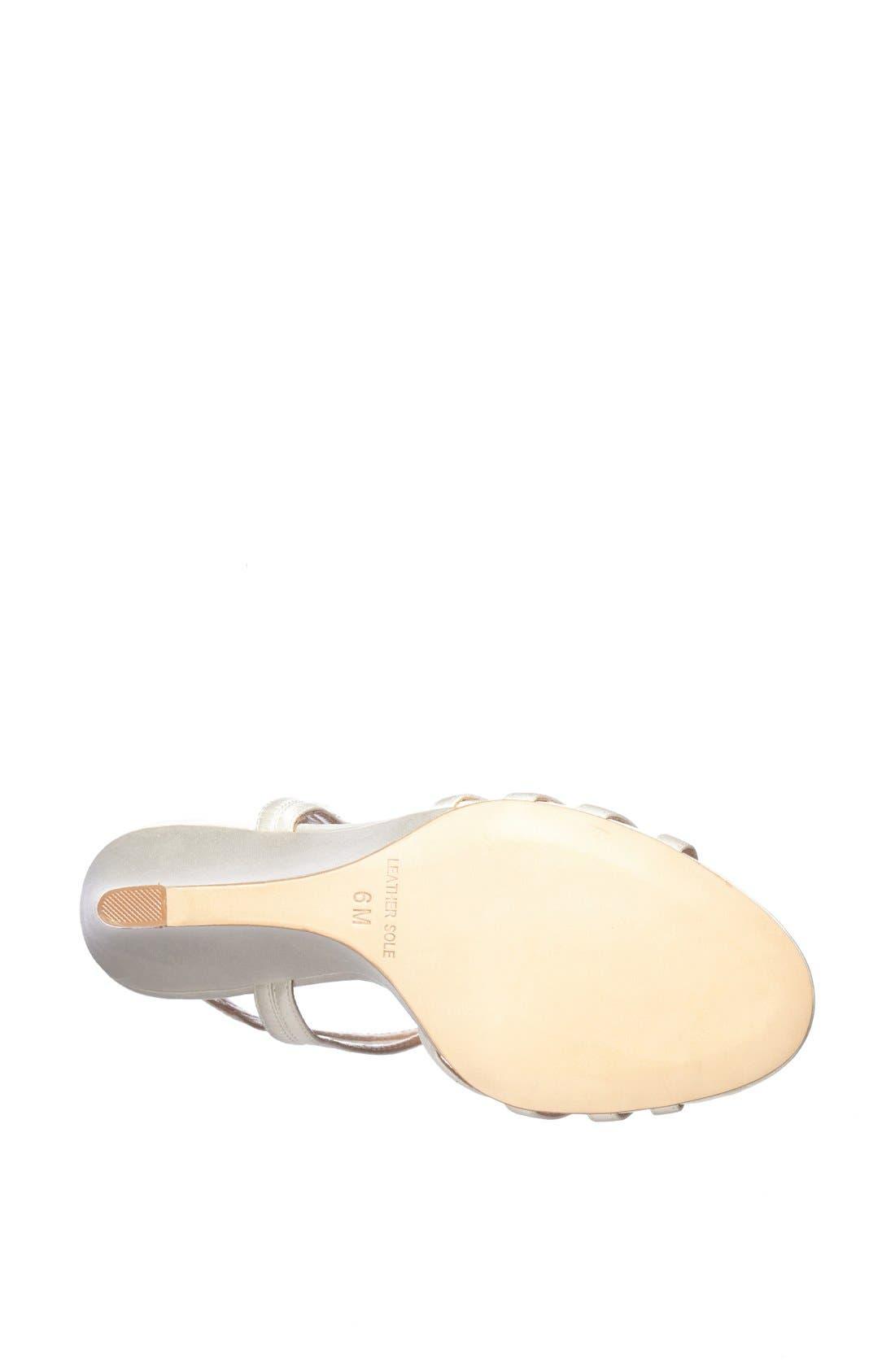 Alternate Image 3  - Badgley Mischka 'Kole' T-Strap Wedge Sandal