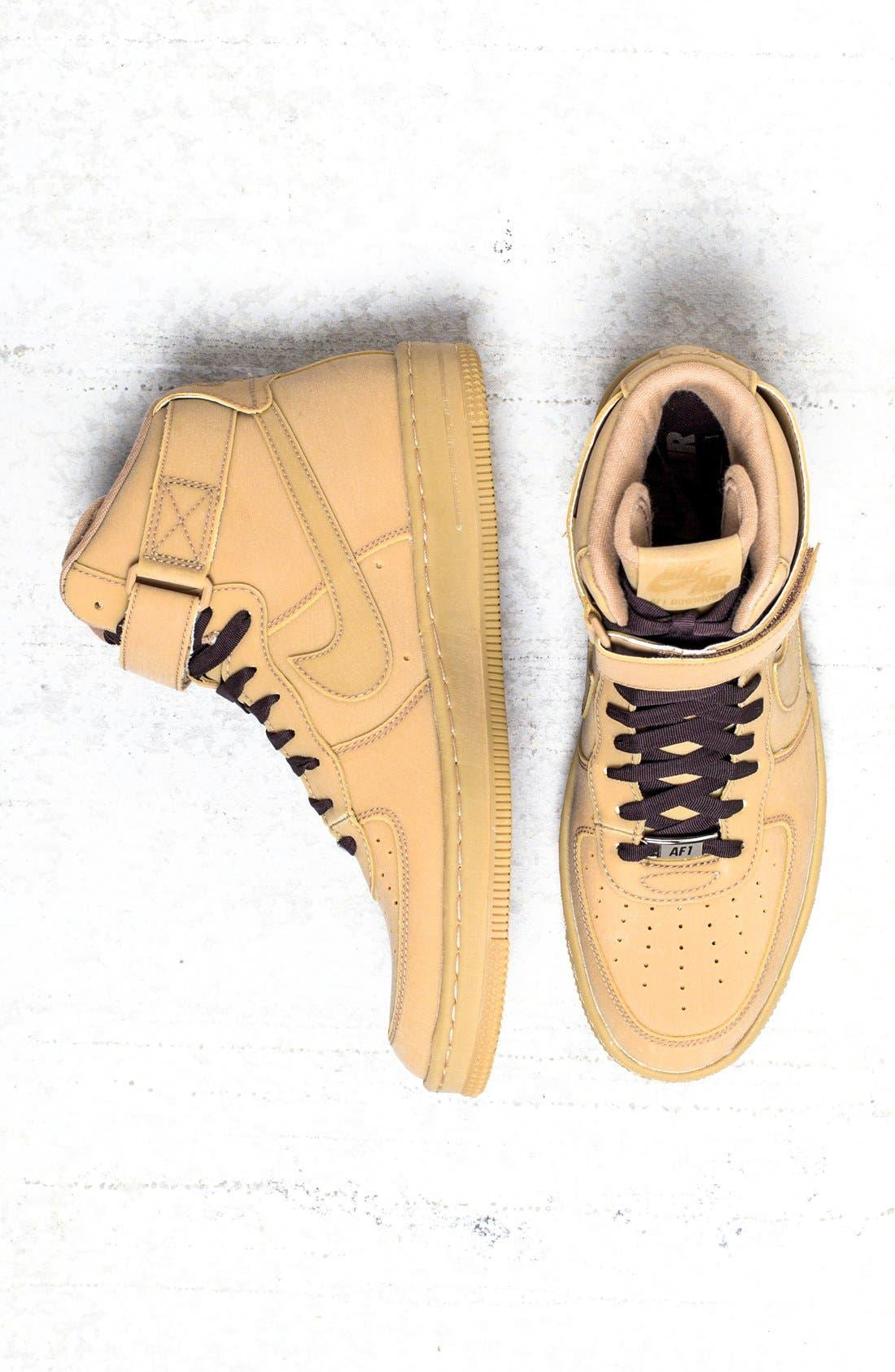 Main Image - Nike 'Airforce 1 - Downtown Hi Gum' Sneaker ...