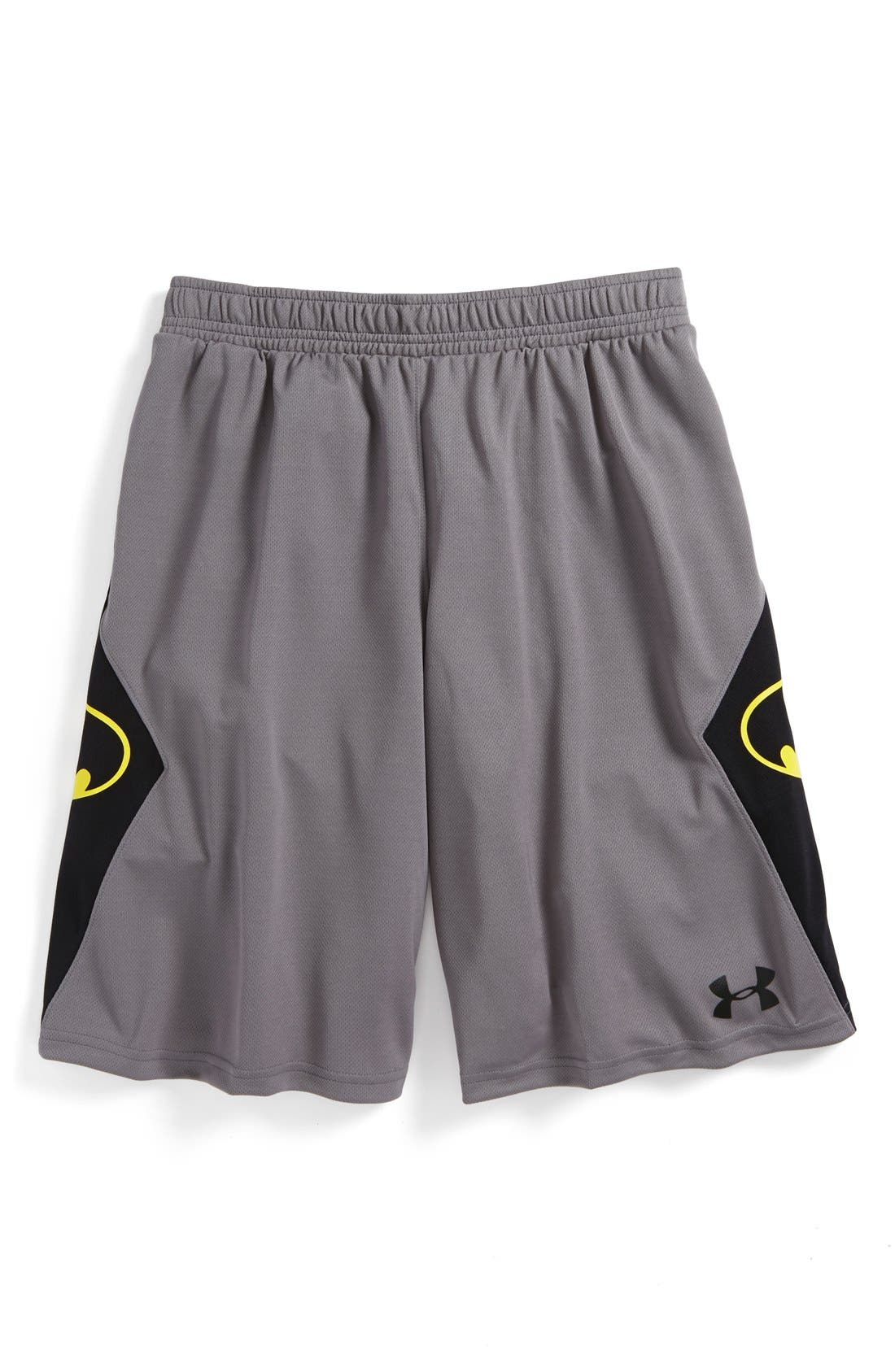 Alternate Image 2  - Under Armour 'Alter Ego - Batman' Shorts (Little Boys & Big Boys)