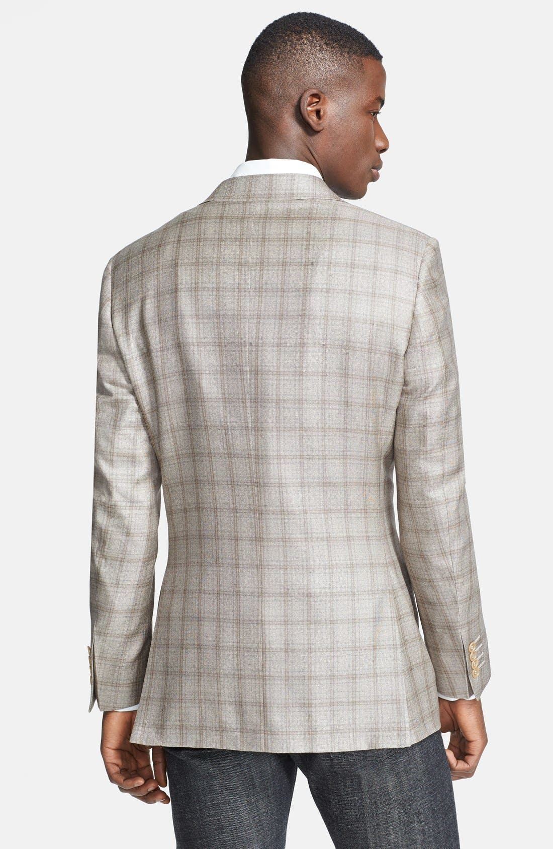Alternate Image 2  - PLAID 2B SV CLASSIC FIT SPORT COAT