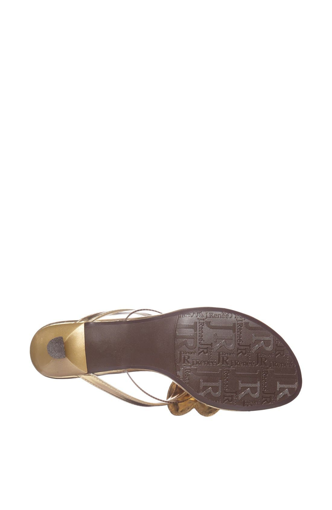 Alternate Image 4  - J. Reneé 'Imbrie' Embellished Thong Sandal