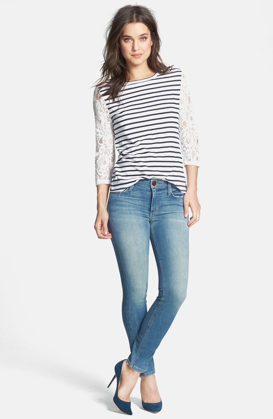 Alternate Image 4  - Joe's Skinny Ankle Jeans (Margo)