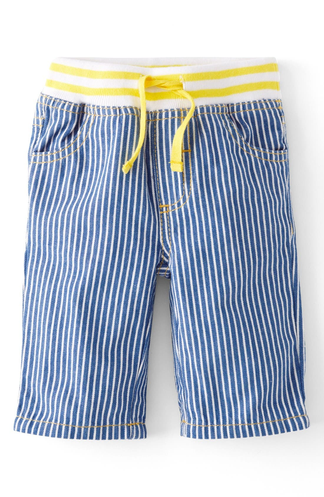 Alternate Image 1 Selected - Mini Boden Straight Leg Jeans (Baby Boys)