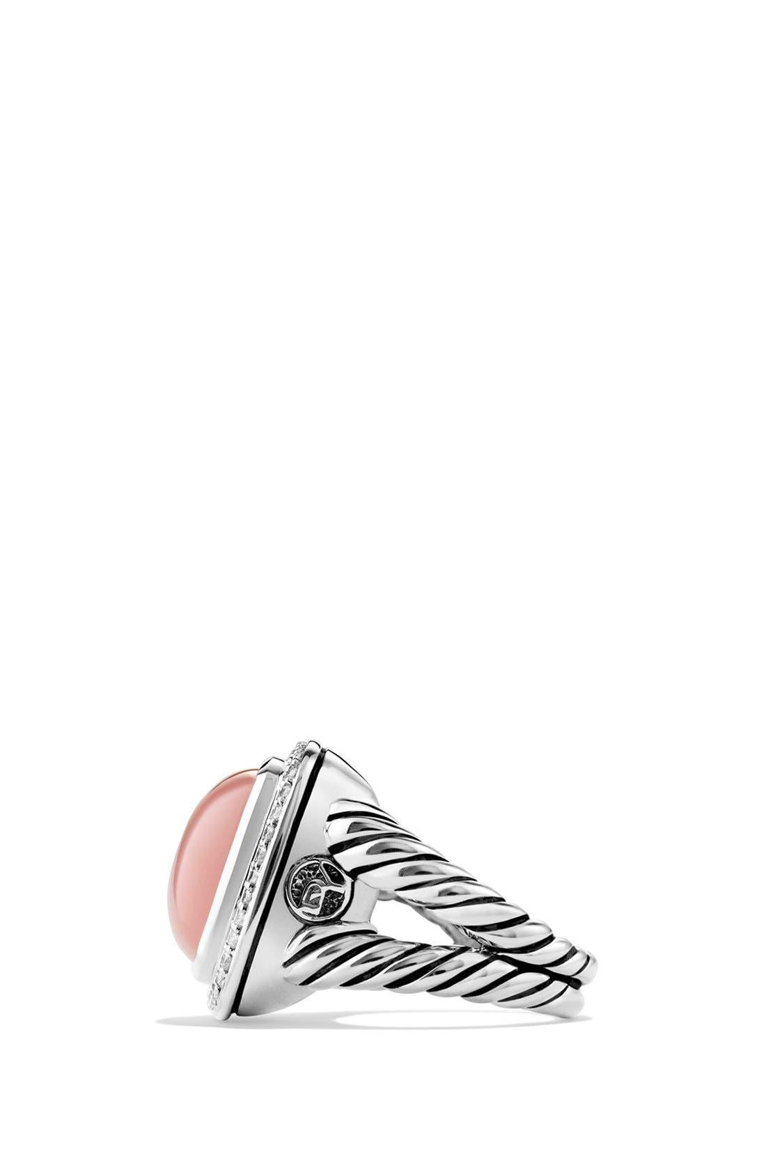 Alternate Image 3  - David Yurman 'Albion' Ring with Semiprecious Stone & Diamonds