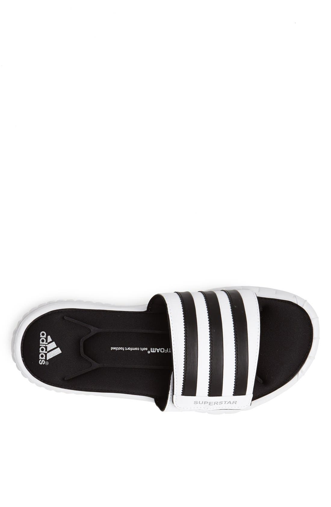 Alternate Image 3  - adidas 'Superstar 3G' Sandal (Men)