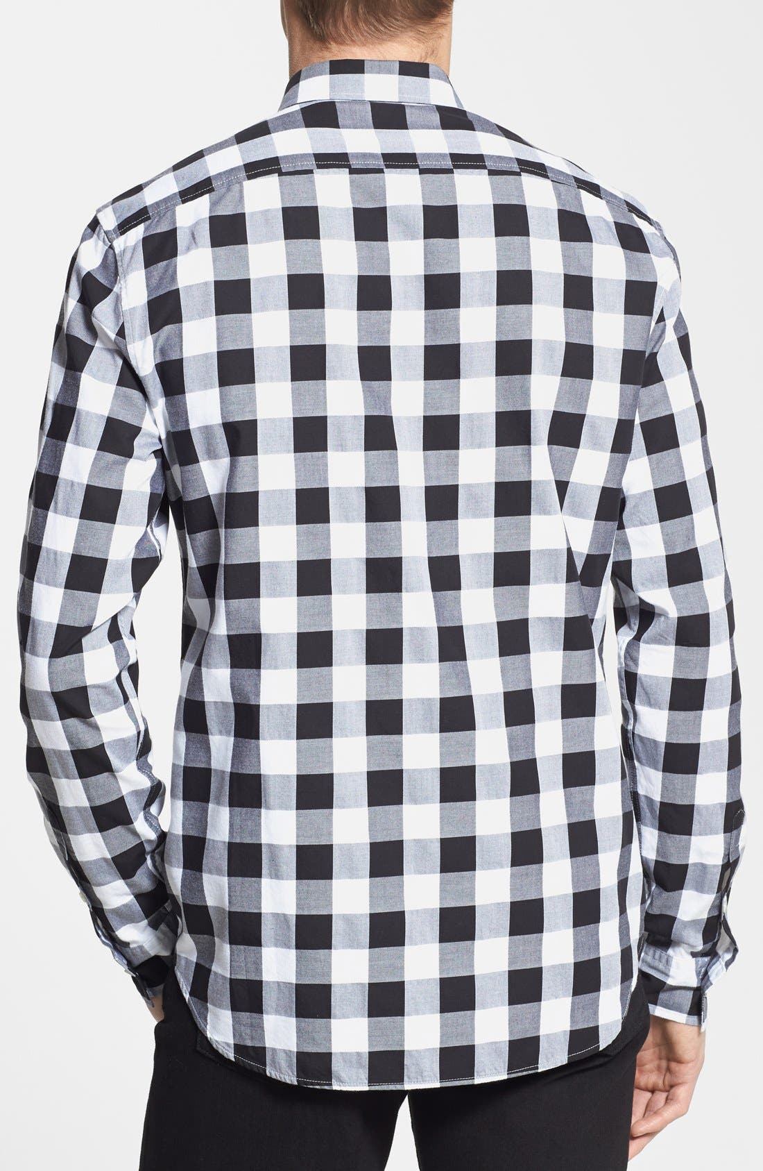 Alternate Image 2  - Burberry Brit 'Fred' Gingham Sport Shirt
