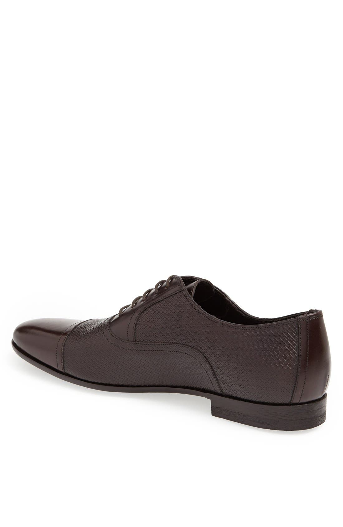 Alternate Image 2  - Canali Cap Toe Oxford (Men)
