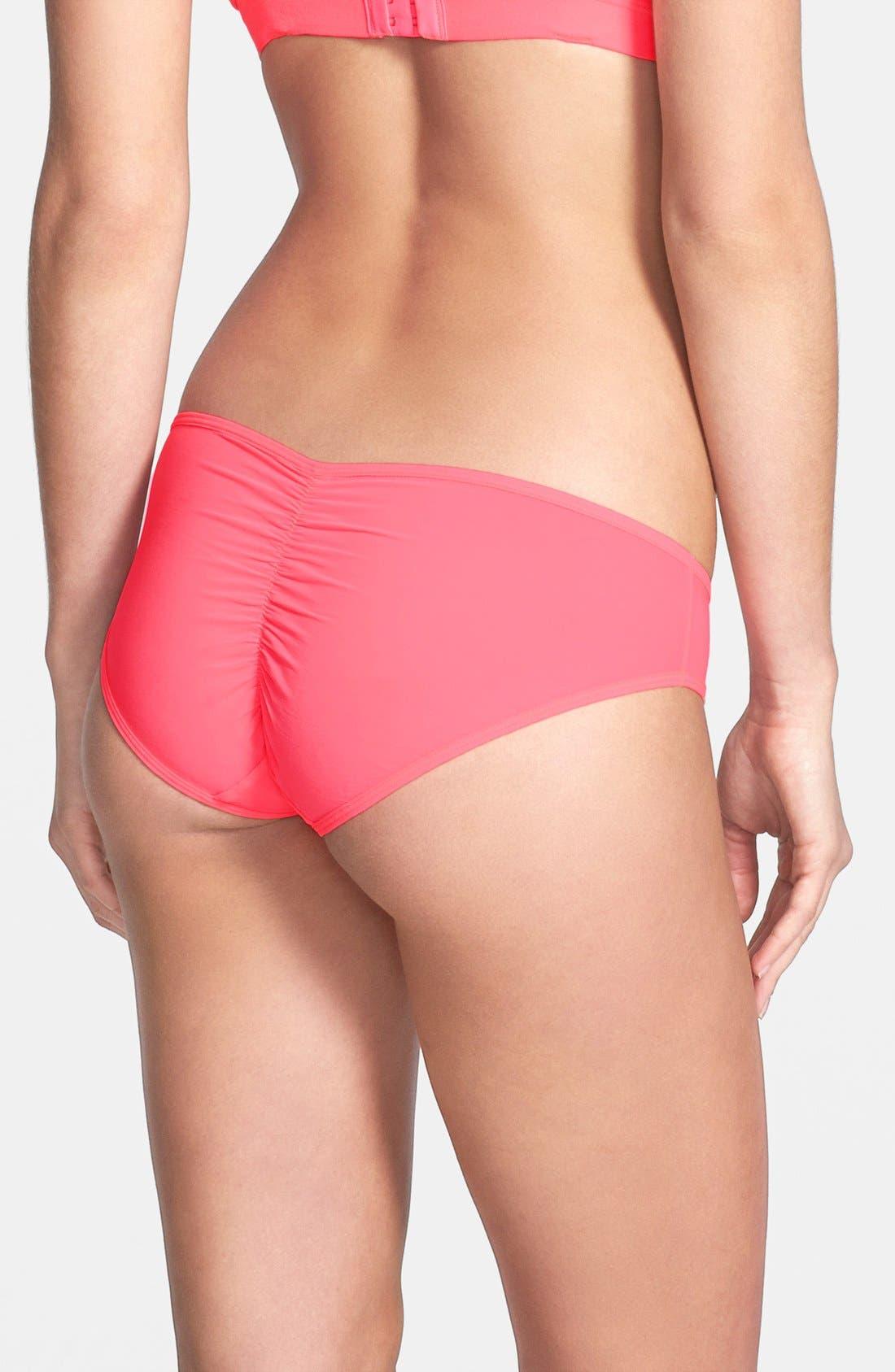 Alternate Image 2  - Splendid Ruched Mesh Bikini