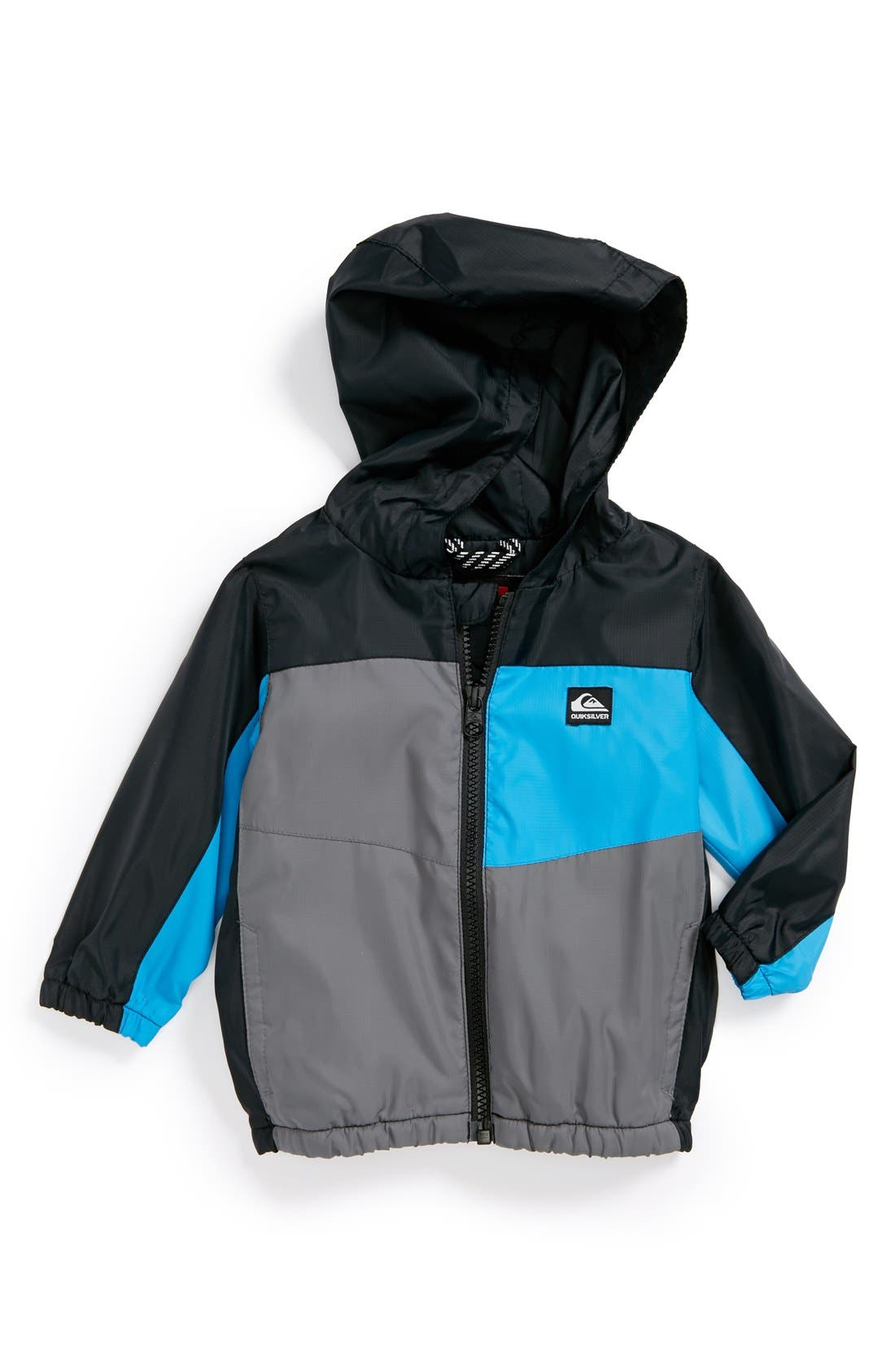 Main Image - Quiksilver 'Byron' Water Repellent Full Zip Jacket (Baby Boys)