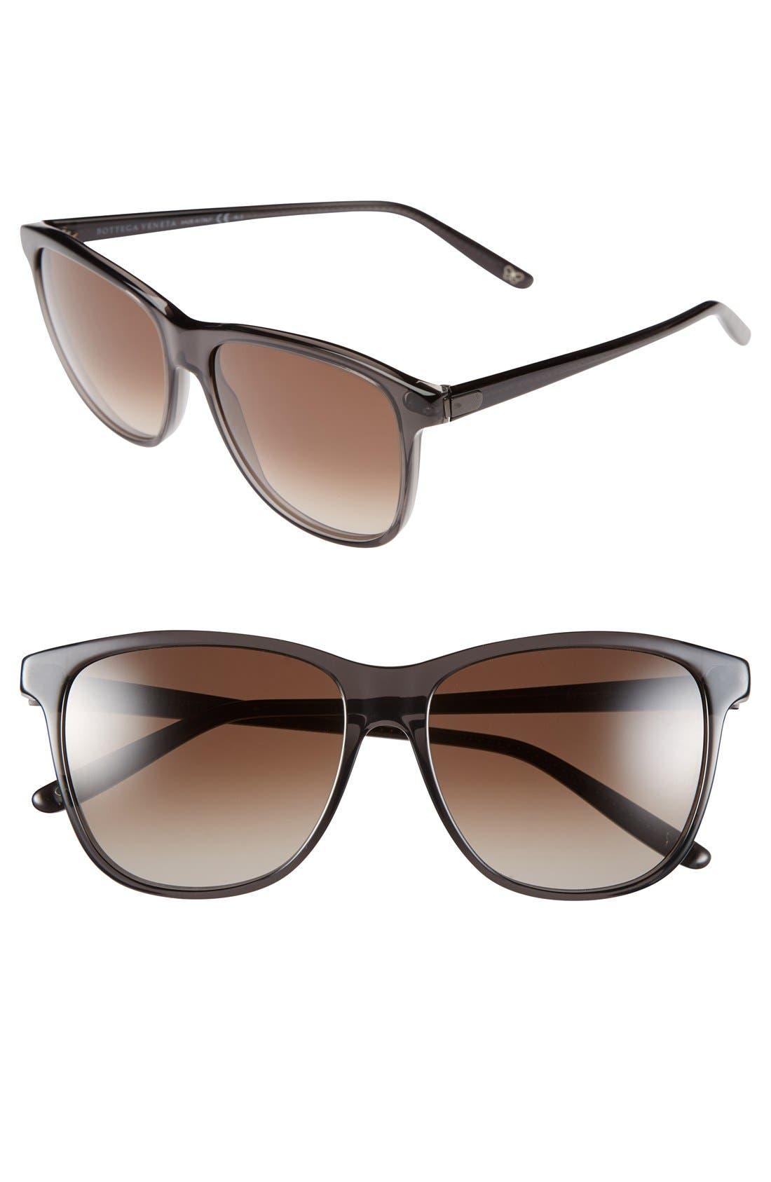 Alternate Image 1 Selected - Bottega Veneta 56mm Sunglasses
