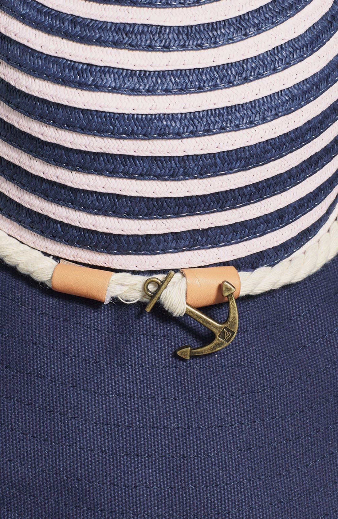 Alternate Image 2  - Sperry Top-Sider® Stripe Floppy Hat