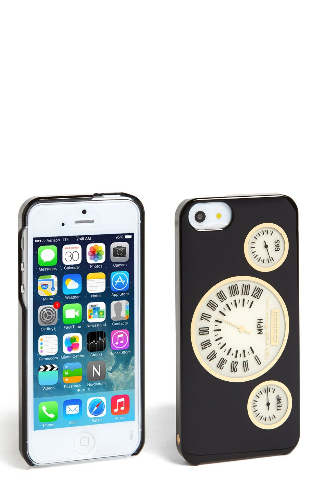 Alternate Image 1 Selected - kate spade new york 'odometer' iPhone 5 & 5s case