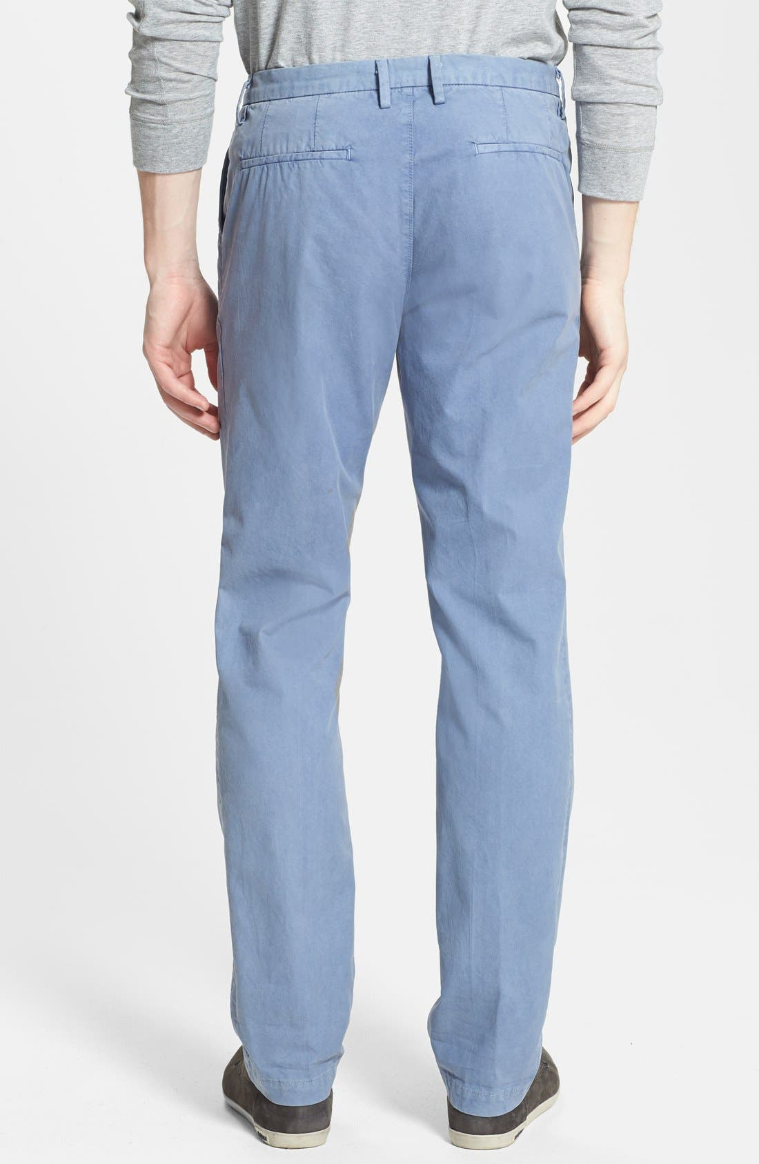 Alternate Image 2  - Vince Straight Leg Twill Trousers