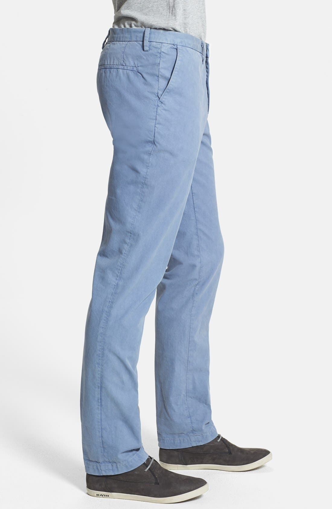Alternate Image 3  - Vince Straight Leg Twill Trousers