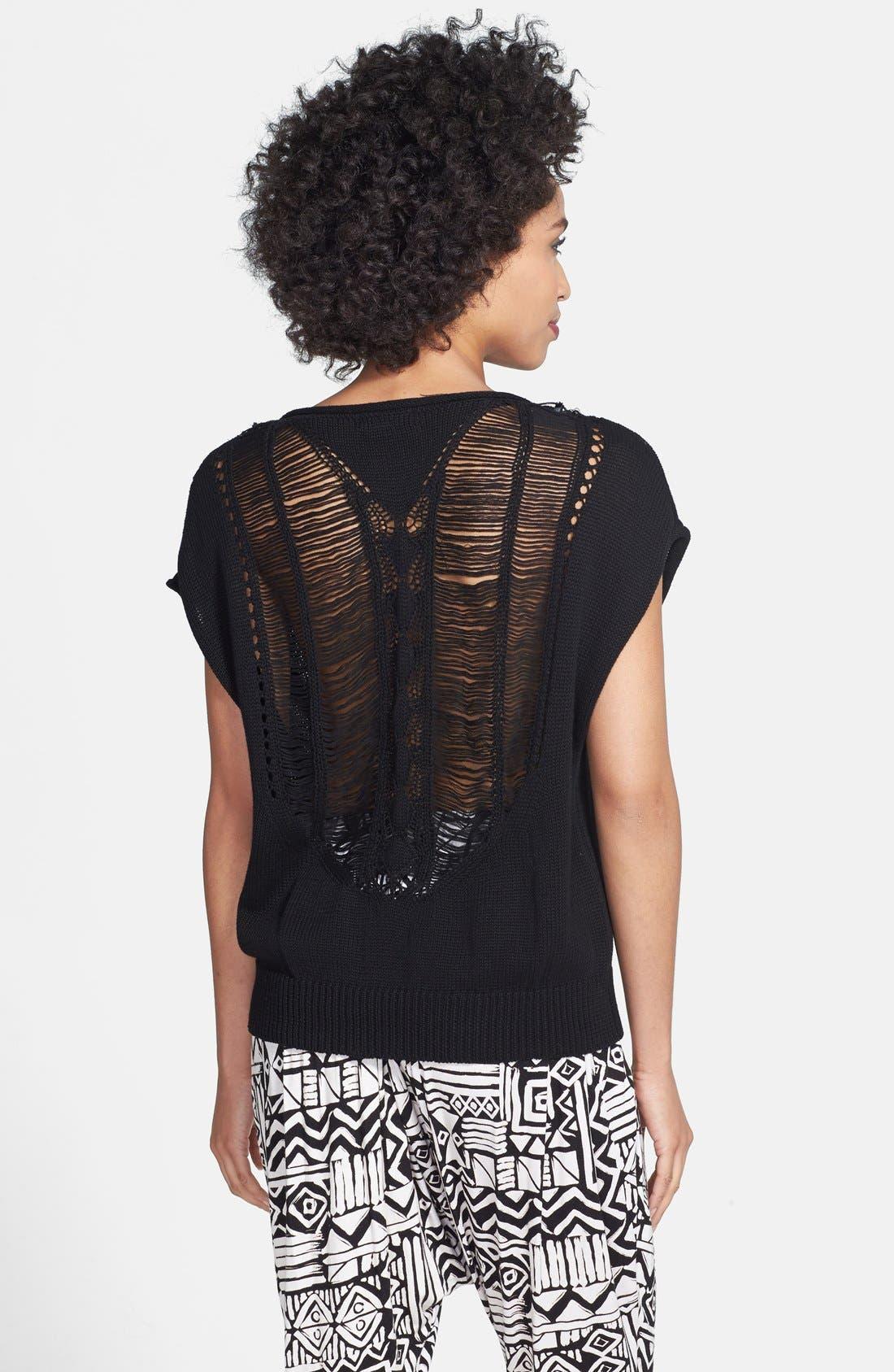 Alternate Image 5  - Nikki Rich Print Harem Pants