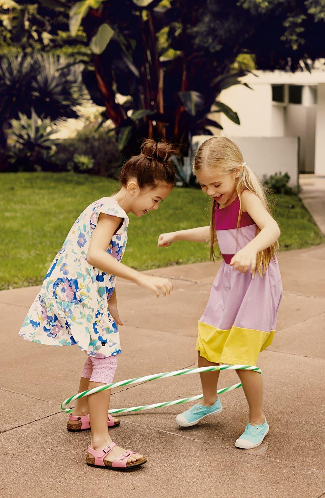 Alternate Image 2  - Tea Collection 'Desert Rose' Twirl Dress (Toddler Girls, Little Girls & Big Girls)