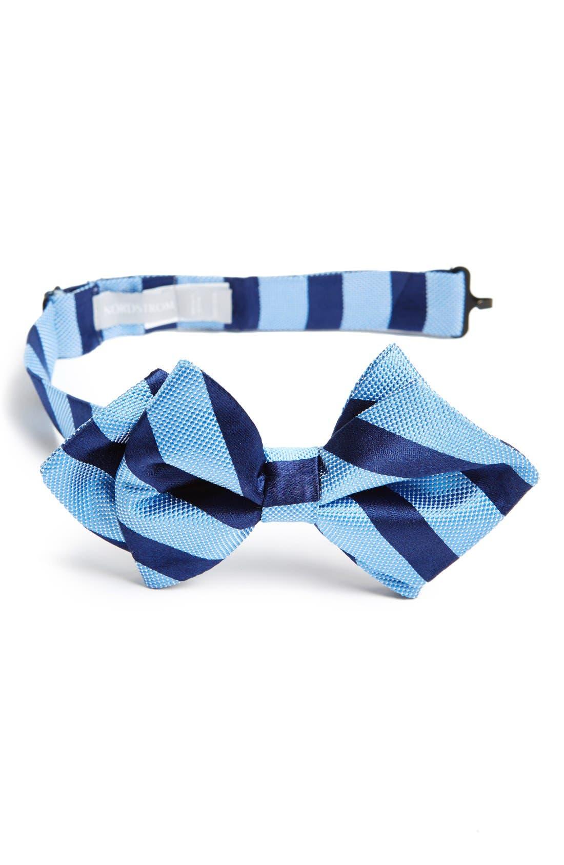 Main Image - Nordstrom Silk Bow Tie (Toddler Boys)