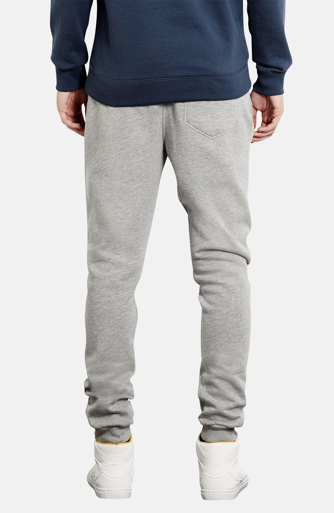 Alternate Image 2  - Topman Skinny Fit Jogger Pants