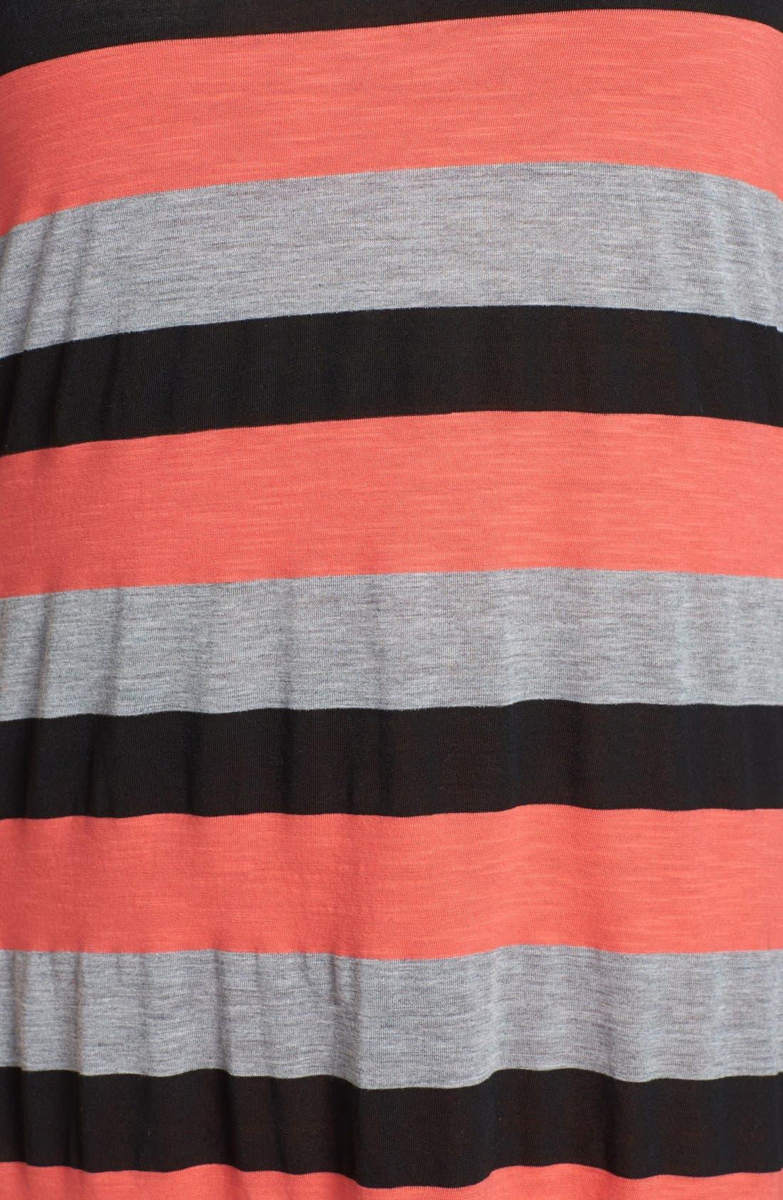 Alternate Image 3  - Allen Allen Stripe Tank Maxi Dress (Plus Size)