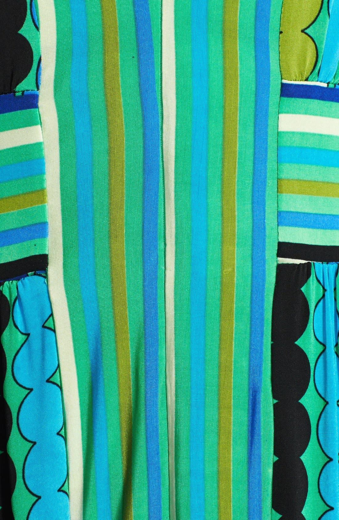 Alternate Image 3  - Tracy Reese Reversible Print Jersey Maxi Dress