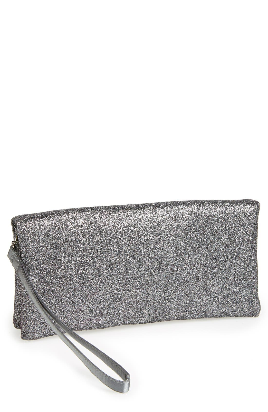 Alternate Image 1 Selected - Nina Glitter Clutch