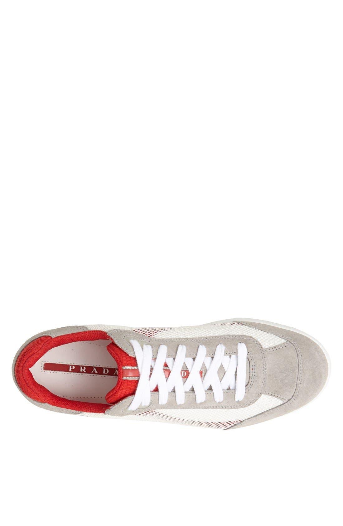 Alternate Image 3  - Prada Mesh Sneaker