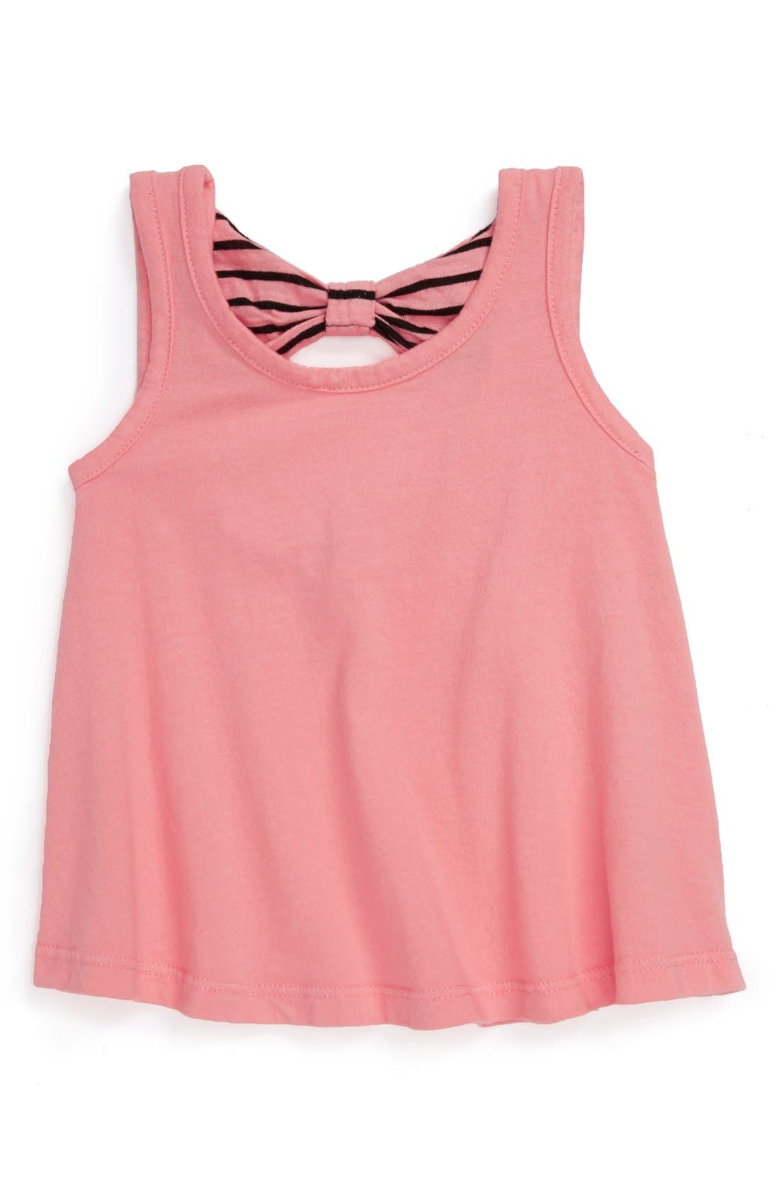 Alternate Image 1 Selected - Joah Love 'Bow' Tank Top (Baby Girls)