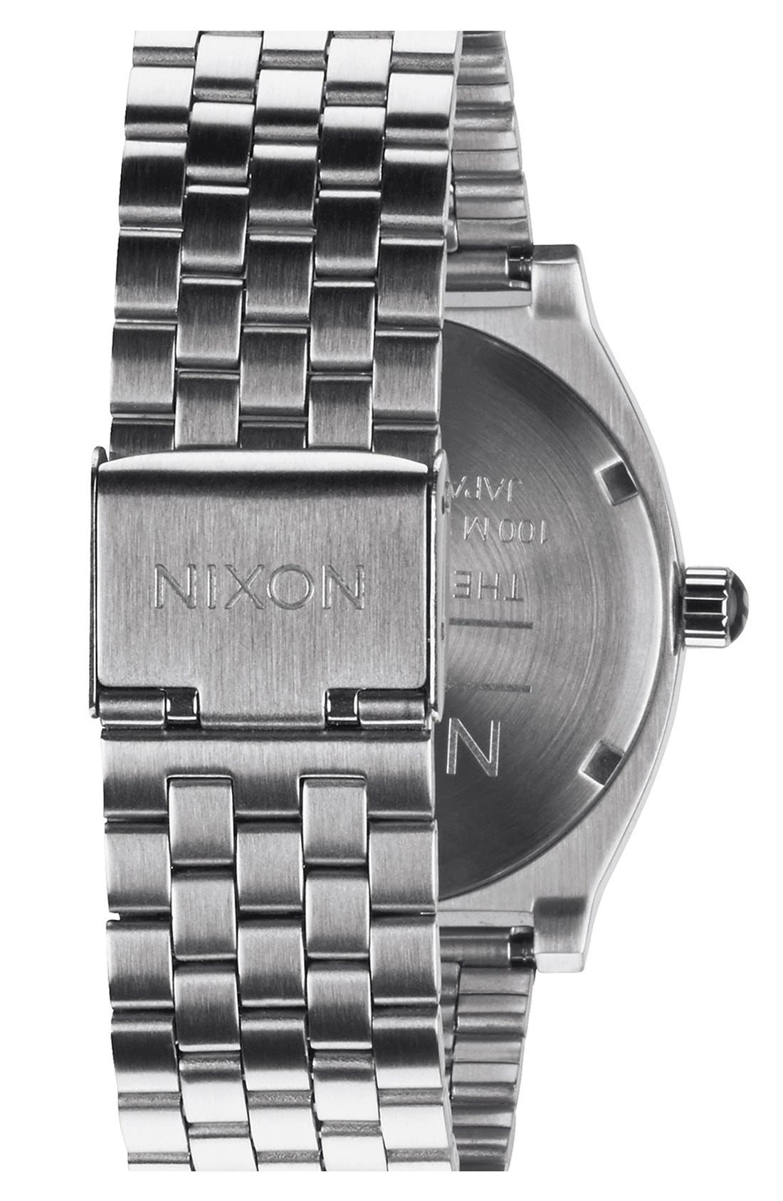Alternate Image 2  - Nixon 'The Time Teller' Bracelet Watch, 37mm