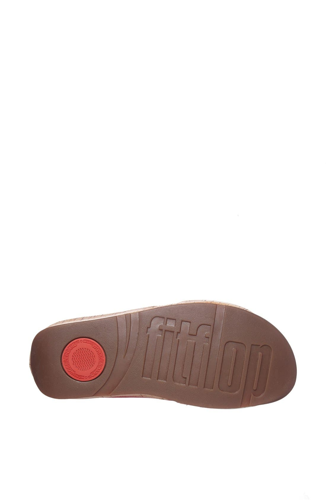 Alternate Image 4  - FitFlop 'Kys™' Leather Sandal