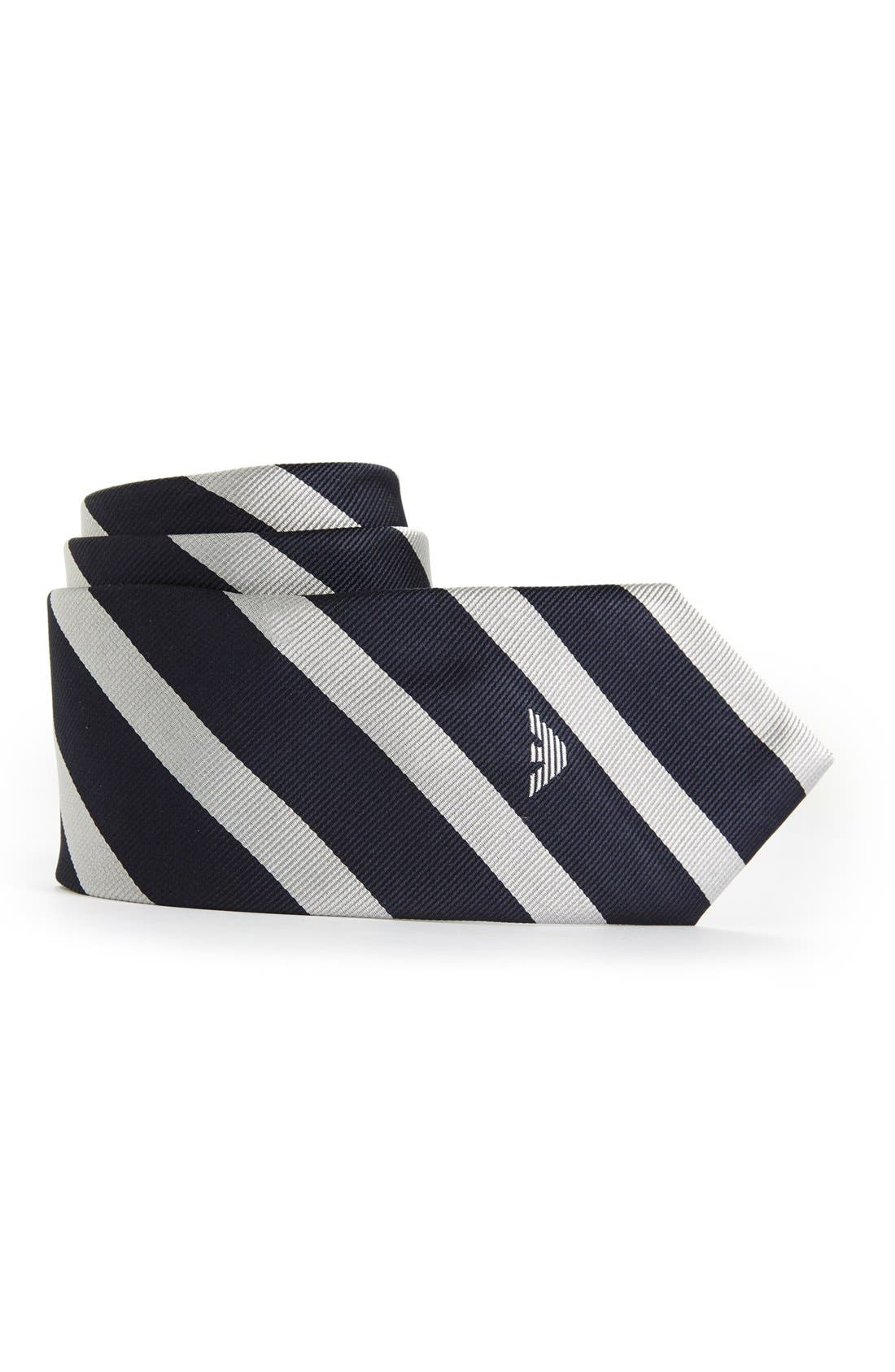 Main Image - Armani Junior Silk Tie (Boys)