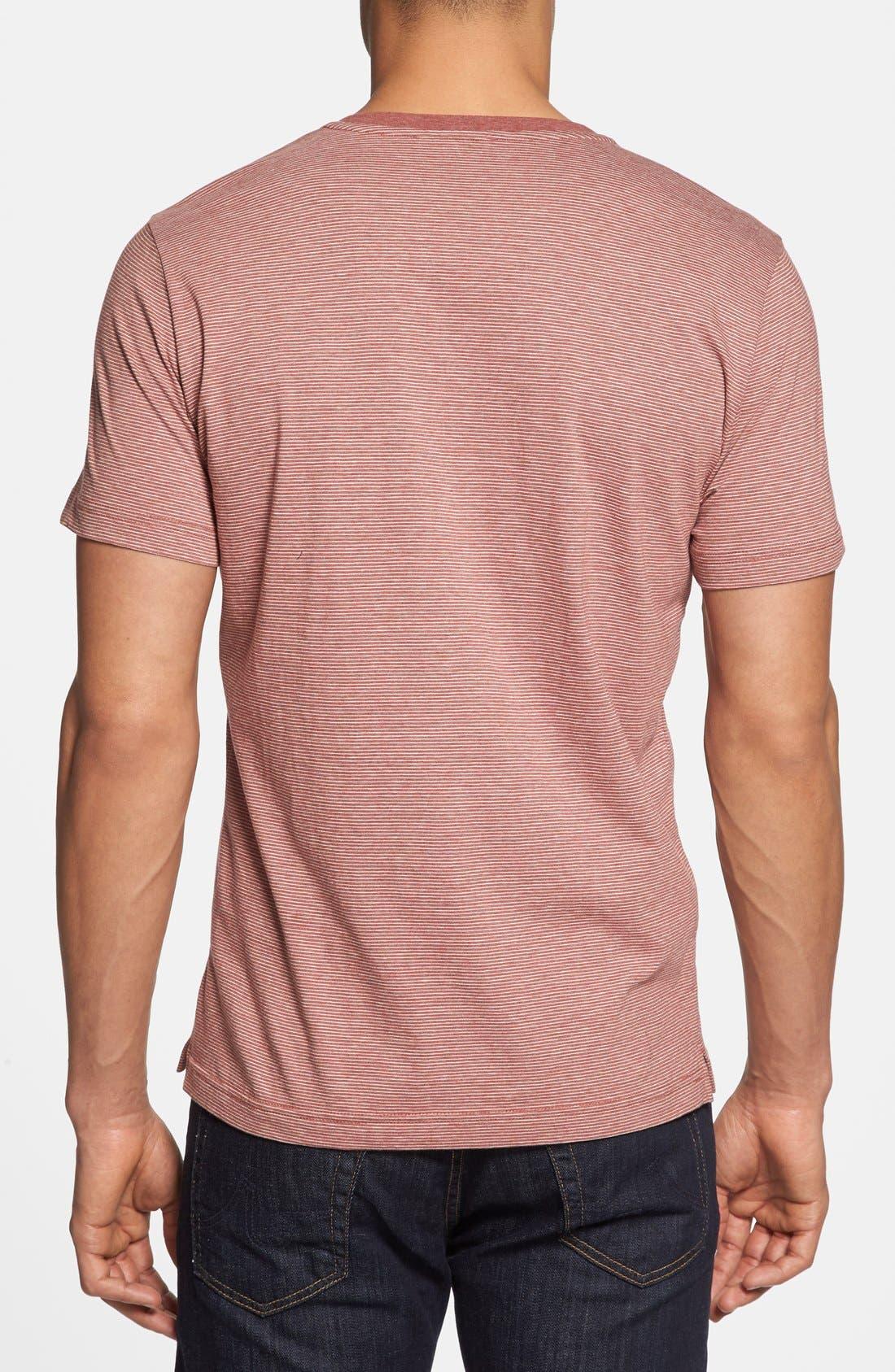 Alternate Image 2  - Robert Barakett 'Caesar' V-Neck T-Shirt