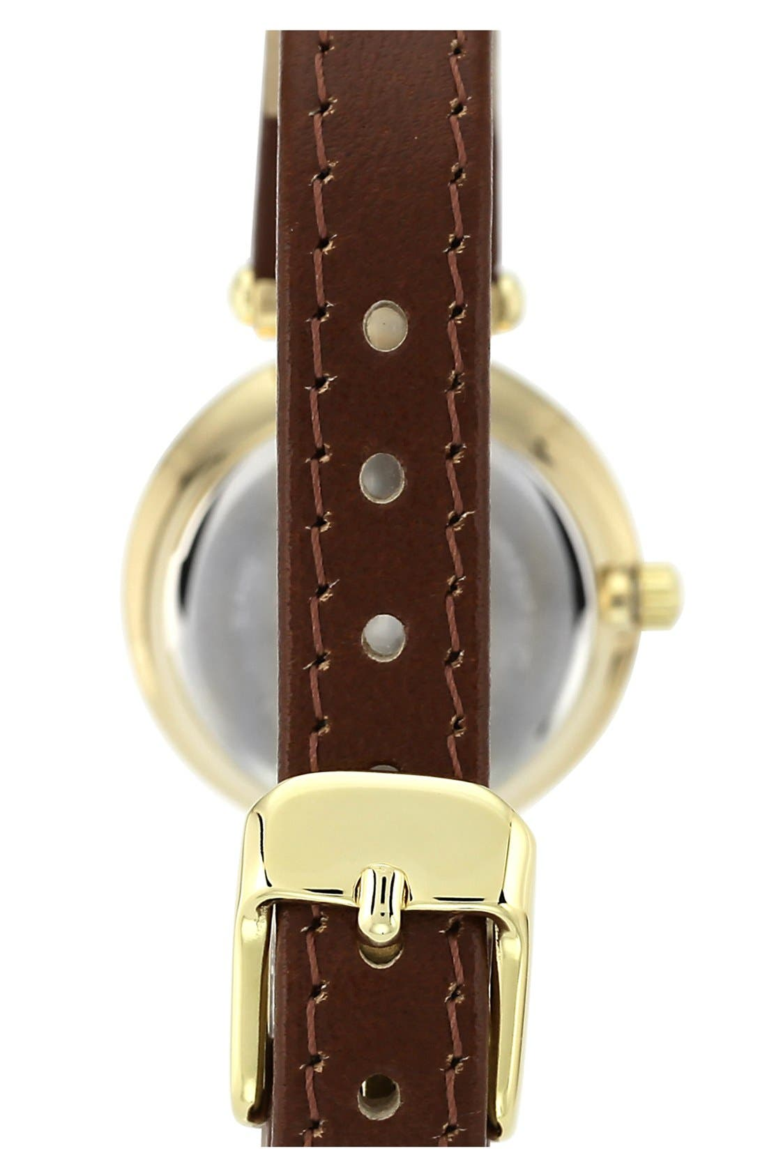 Alternate Image 2  - Anne Klein Hinge Case Watch, 32mm