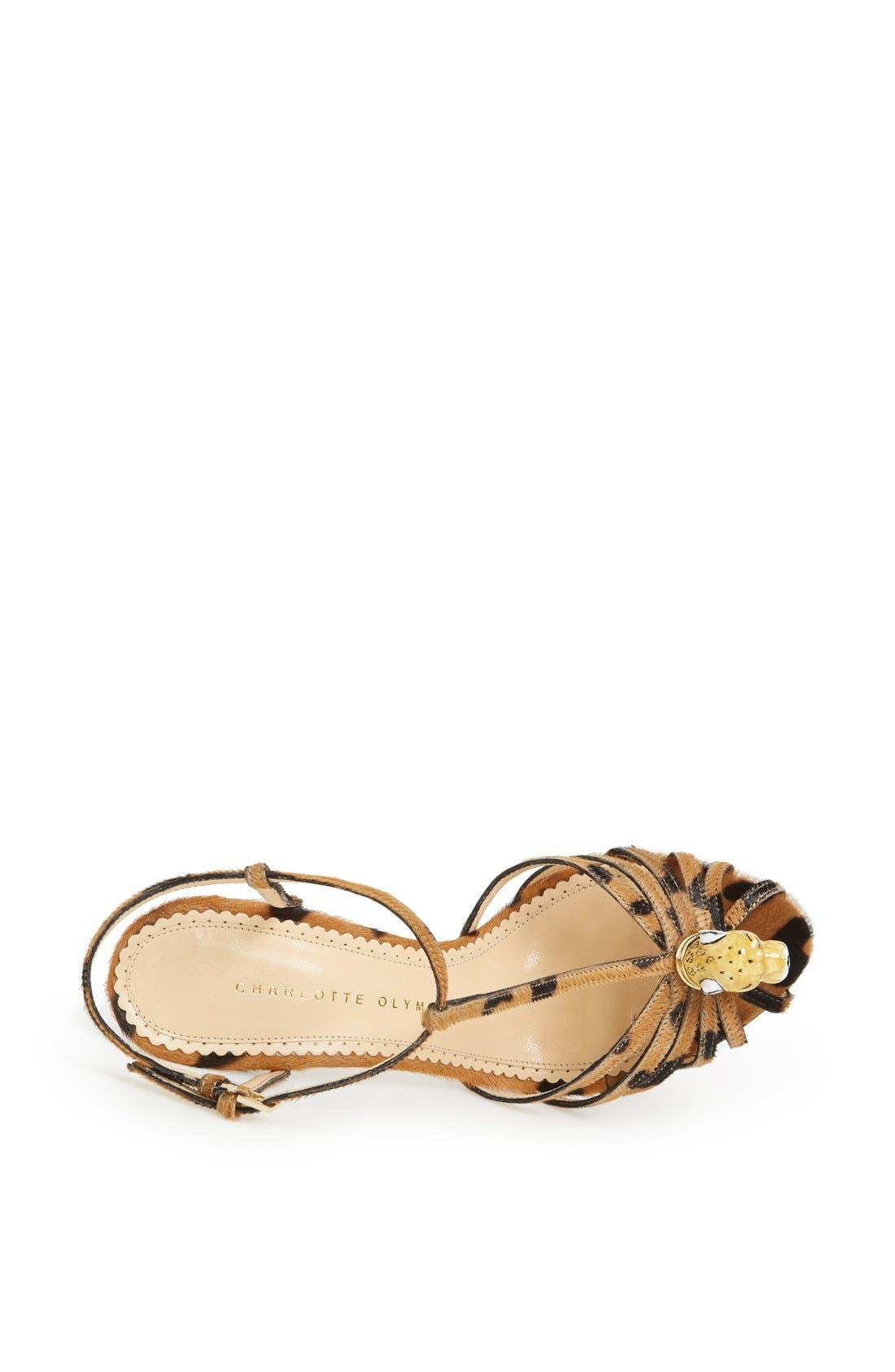Alternate Image 3  - Charlotte Olympia 'Clio' Calf Hair Sandal