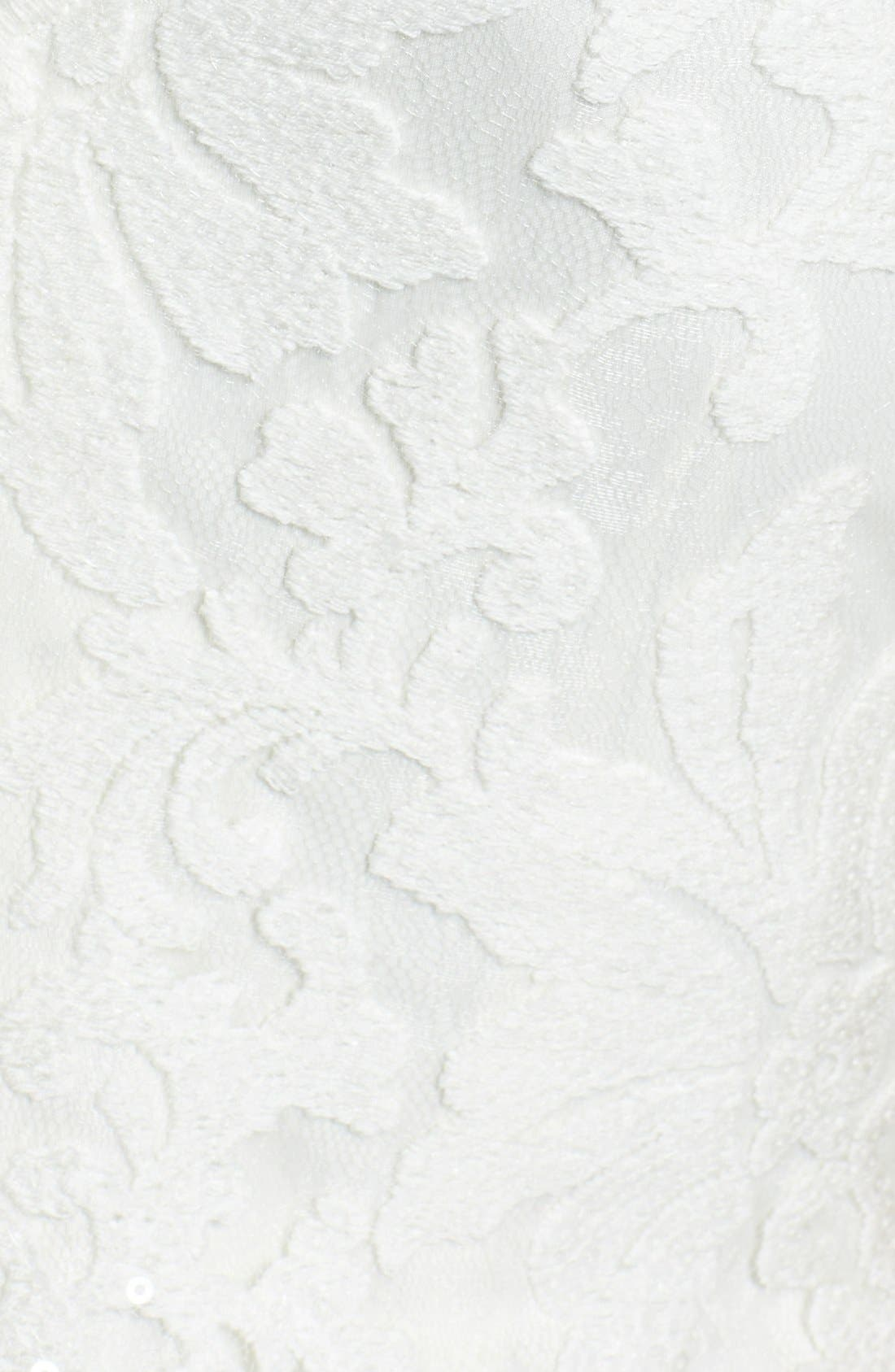 Alternate Image 4  - Tadashi Shoji Lace Sheath Dress