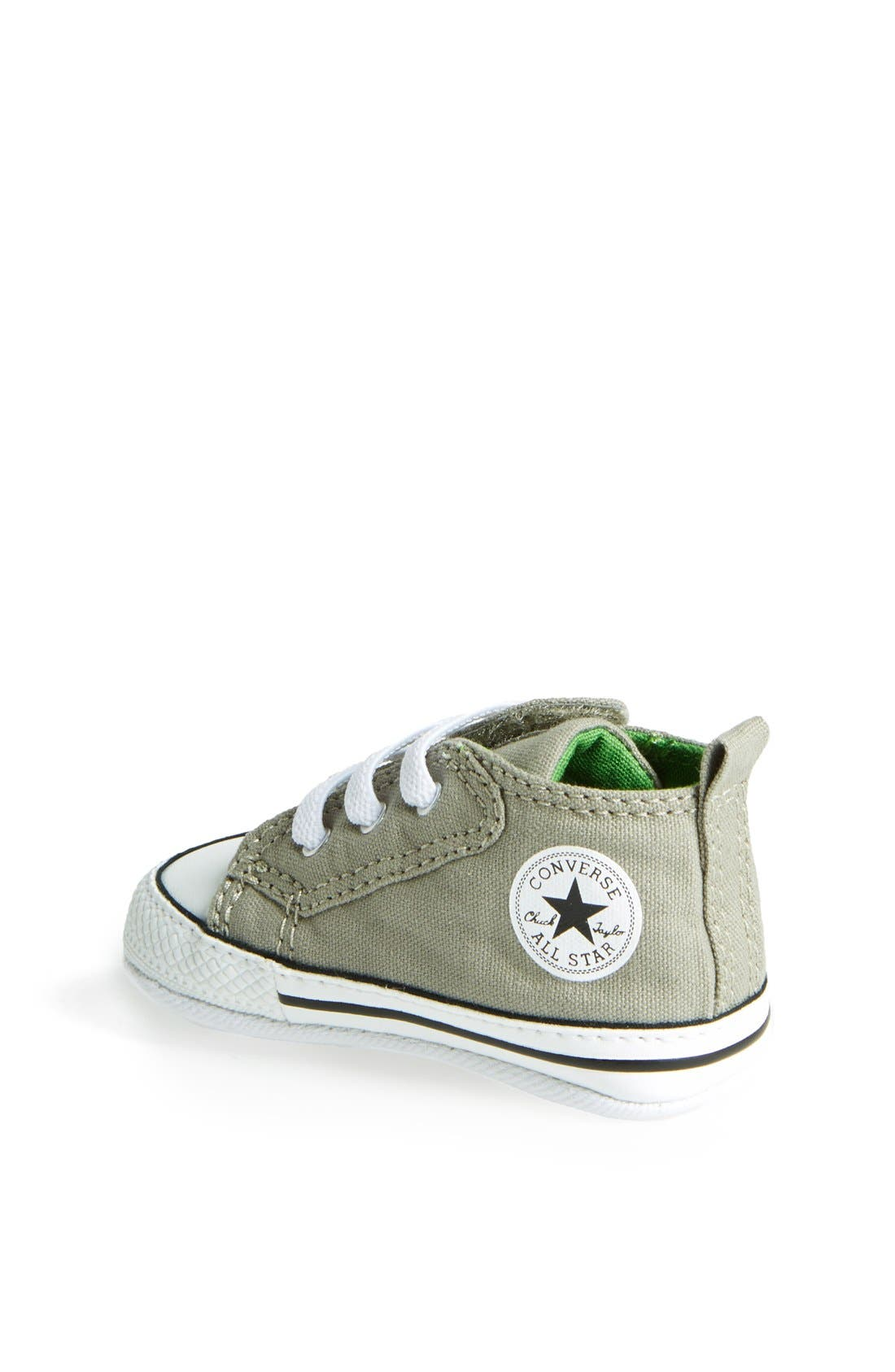 Chuck Taylor<sup>®</sup> Low Top Sneaker,                             Alternate thumbnail 2, color,                             Old Silver