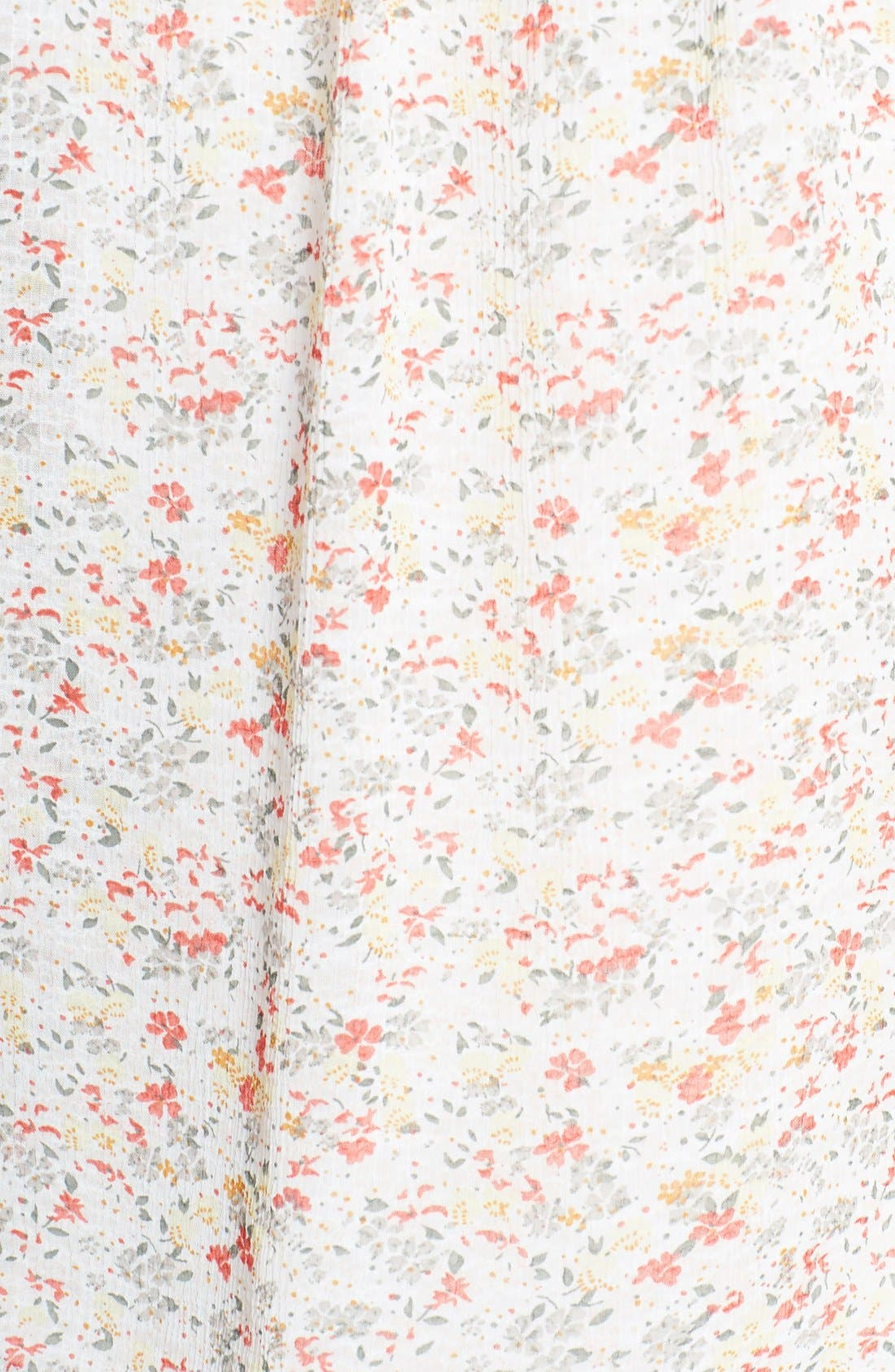 Alternate Image 3  - Two by Vince Camuto 'Ditsy Floral' Tie Neck Blouse