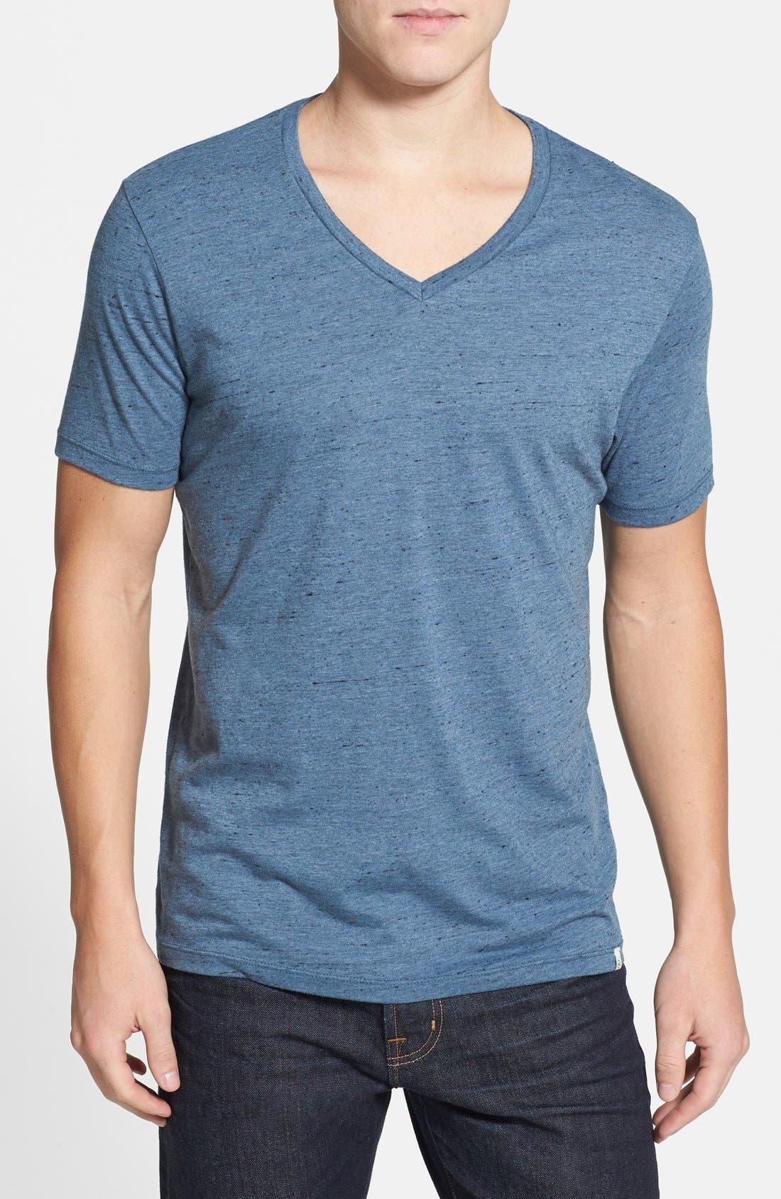 Alternate Image 1 Selected - AG Triblend V-Neck T-Shirt