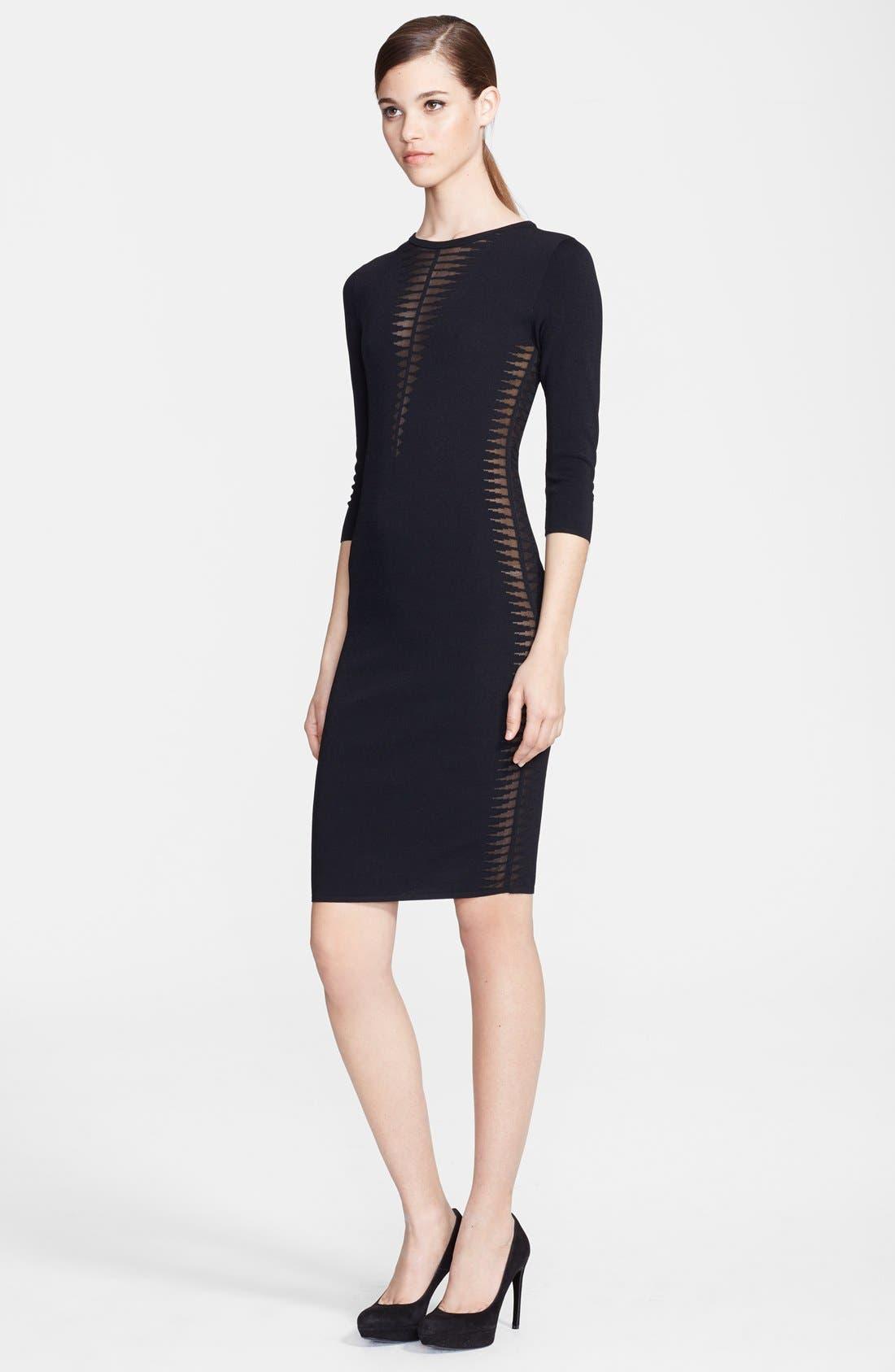 Main Image - Alexander McQueen Spine Knit Dress