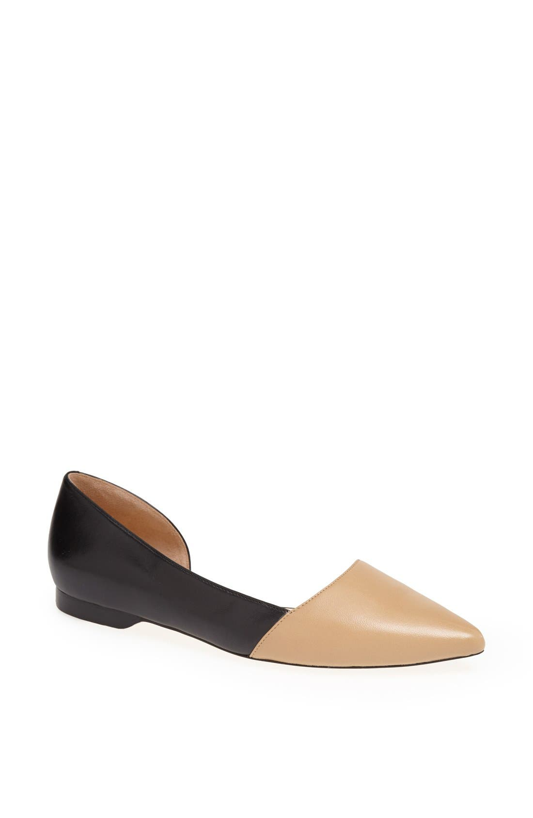 Alternate Image 1 Selected - Cole Haan 'Amalia' Half d'Orsay Skimmer Flat