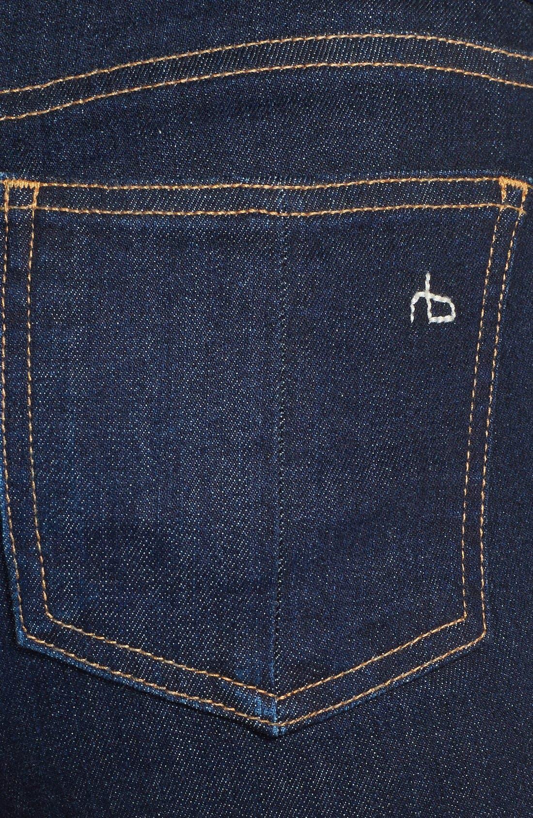 Alternate Image 3  - rag & bone/JEAN Crop Skinny Jeans (Heritage)