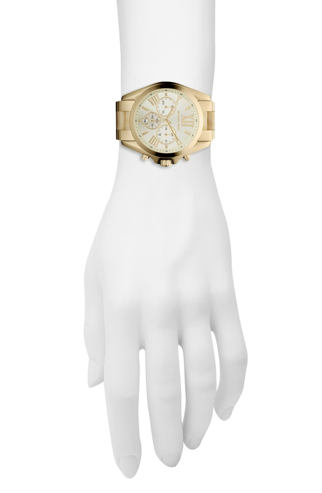 Alternate Image 4  - Michael Kors 'Bradshaw' Chronograph Bracelet Watch