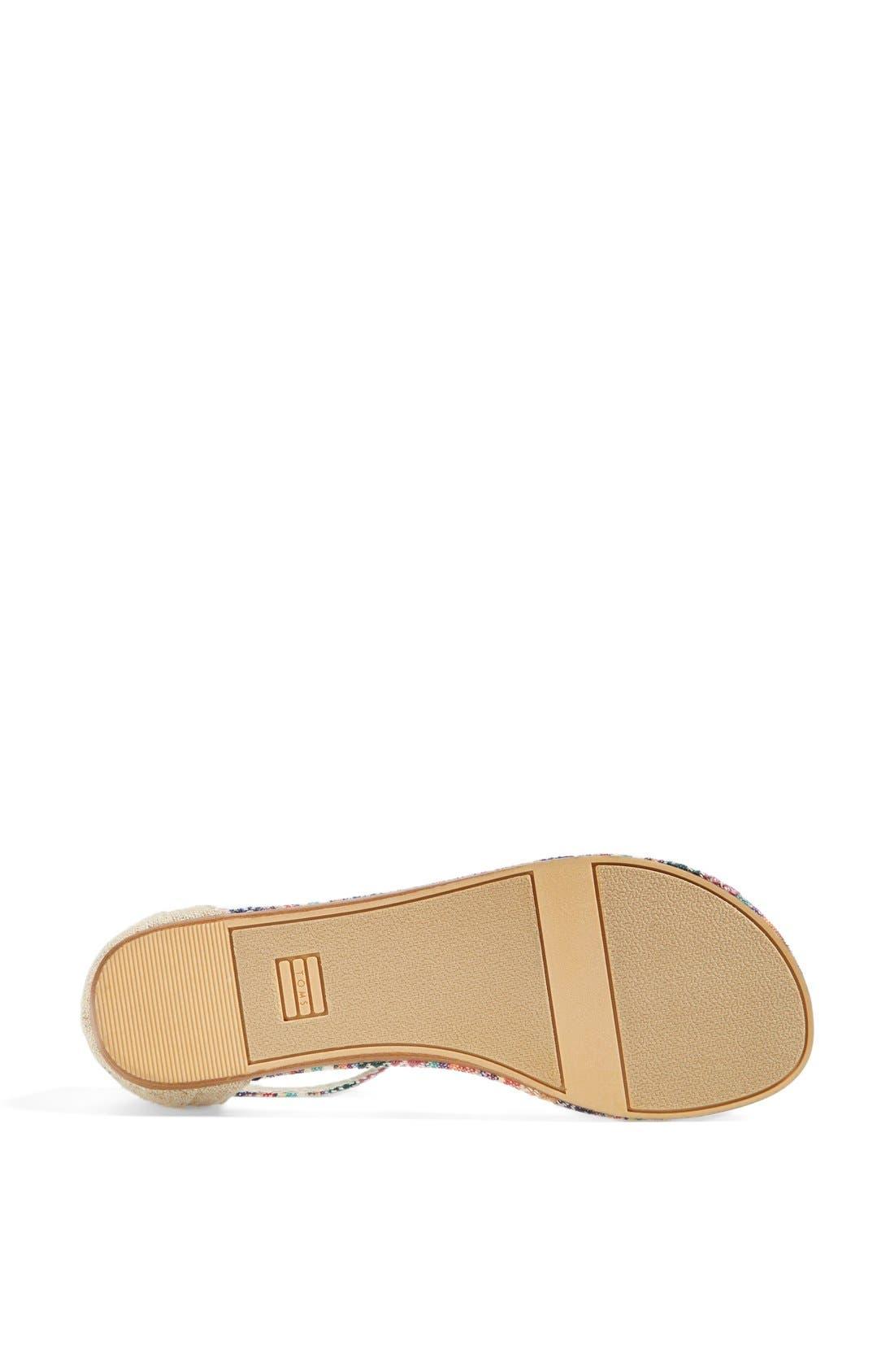Alternate Image 4  - TOMS 'Playa' Thong Sandal (Women)