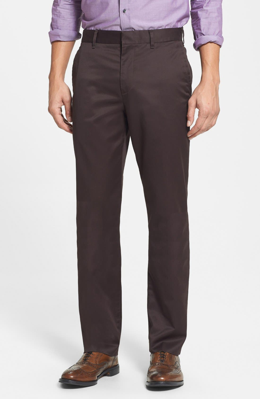 Bonobos 'Weekday Warriors' Non-Iron Straight Leg Cotton Pants
