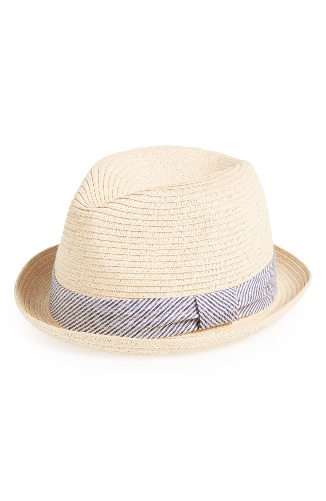 Main Image - Glory Hats by Goorin 'Fireball' Straw Fedora