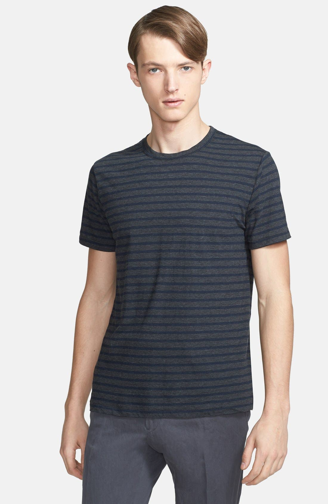 Alternate Image 1 Selected - Todd Snyder Multi Stripe T-Shirt