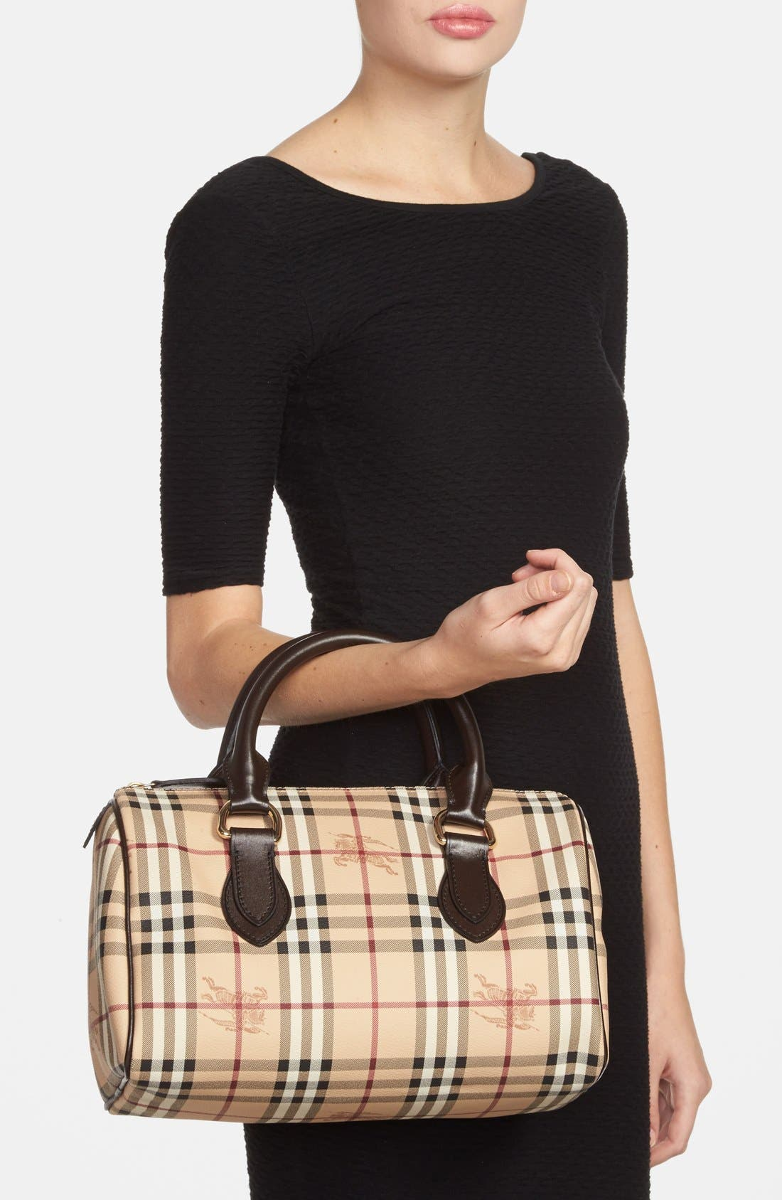 Alternate Image 2  - Burberry 'Haymarket Check' Satchel