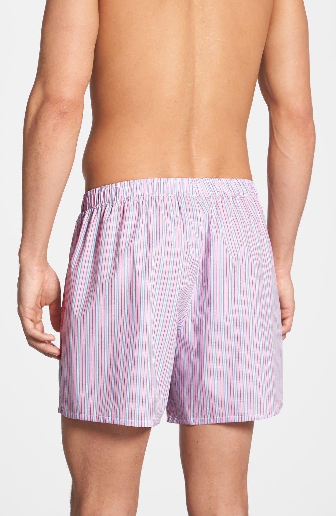 Alternate Image 2  - Polo Ralph Lauren Woven Boxer Shorts